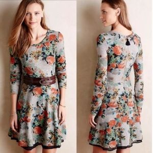 Anthropologie Saturday Sunday Terry Floral Dress